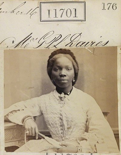 Sarah Forbes Bonetta (Sarah Davies)  by Camille Silvy. © National Portrait Gallery, London
